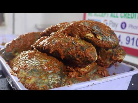 Full Fish Fry Recipe || Simple And Delicious Fried Fish Recipe || Food On Road