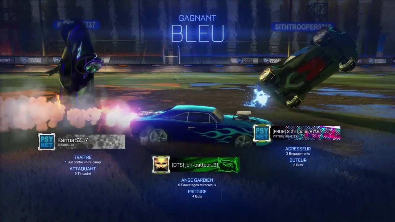 Rocket League Guardians Of The Goal Thermal Guidance Champions Field Beckwith Parc 720p Youtube