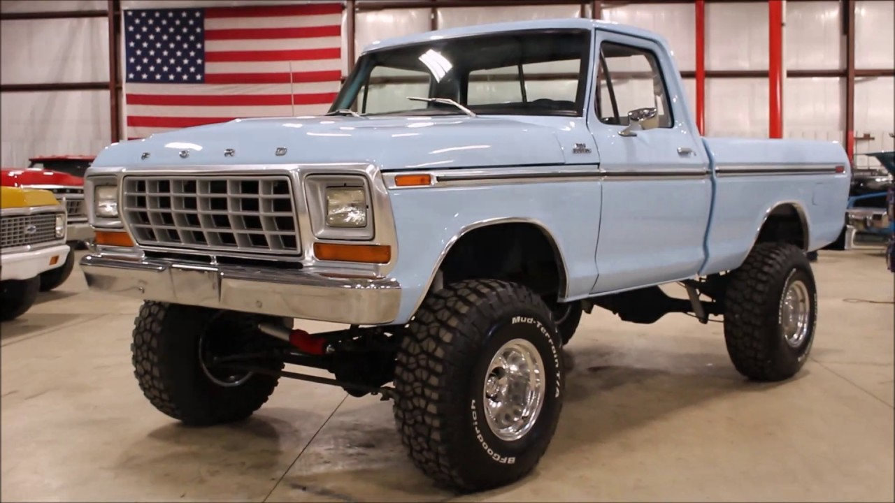 1978 Ford Truck >> 1978 Ford F150 Light Blue