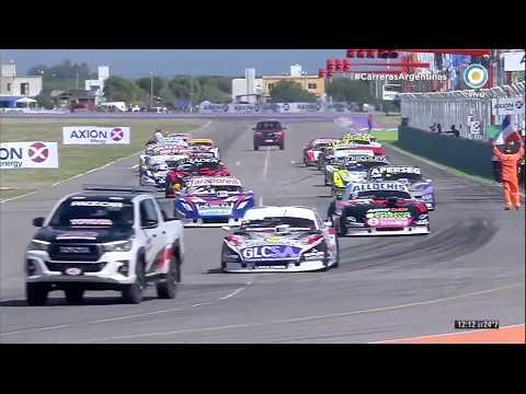 TC Pista: Santiago Álvarez consiguió su primer éxito en San Luis con el Dodge del equipo JP Carrera.