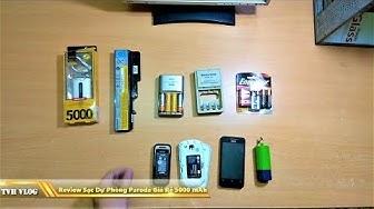Review Sạc Dự Phòng Giá Rẻ Proda 5000 mAh - Spare Battery | Văn Hóng
