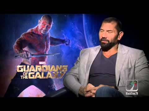 Guardians of The Galaxy Interview w/ Dave Bautista
