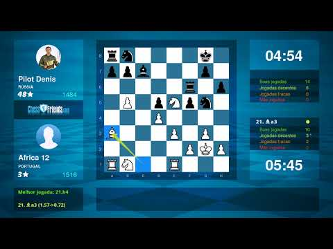 Chess Game Analysis: Africa 12 - Pilot Denis : 1-0 (By ChessFriends.com)