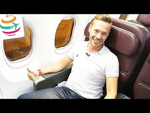 Qantas Business Class 737-800 | YourTravel.TV