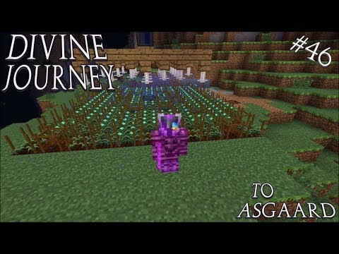 Minecraft 1.7.10 Divine Journey Ep 46: Exploration and Agricraft