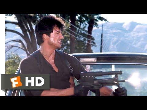 Cobra (1986) - Motorcycle Maniacs Scene (8/10) | Movieclips