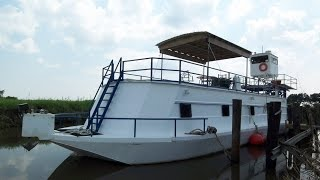 [UNAVAILABLE] Used 2012 Custom Built Houseboat 70 Steel Barge in Erath, Louisiana