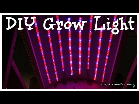 29 paneles de luz LED Grow para bricolaje que puede hacer en su casa 3