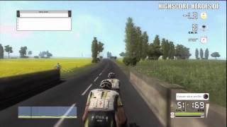 Tour de France 2011 PS3: Team Time Trial Stage Gameplay (720p HD)