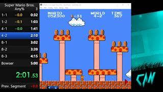 [TAS] Super Mario Bros. Any% in 4:59.92