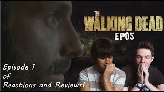 The Walking Dead: Reactions and Reviews EP1 | S04EP05 - WALKERS ATTACK!!