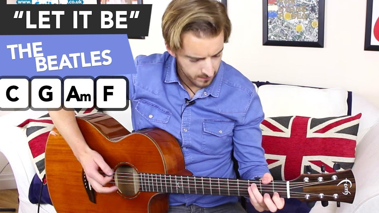 The Beatles Yesterday Easy Guitar Lesson Tutorial Paul Mccartney How To Play Youtube