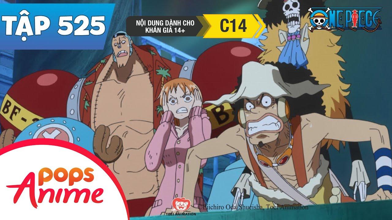 One Piece Tập 525 - Mắc Nạn Dưới Đáy Biển. Băng Hải Tặc Mũ Rơm Lạc Nhau - Đảo Hải Tặc