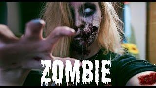 Макияж Зомби на Хэллоуин // Zombie make up tutorial
