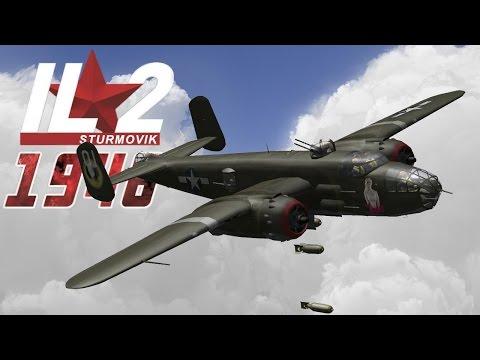 IL-2 1946: Bombing & Strafing B-25s |