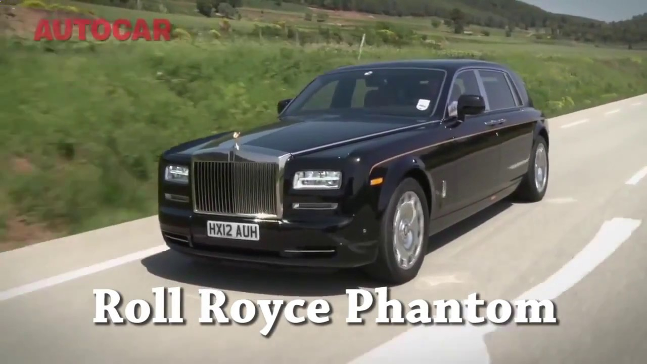 2017 roll royce phantom vs chrysler 300c - youtube