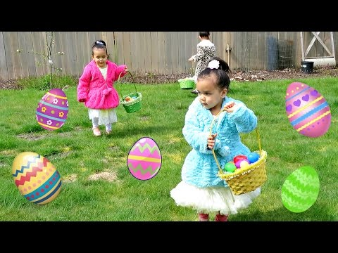 EASTER EGG HUNT 2017! - April 16, 2017 -  ItsJudysLife Vlogs