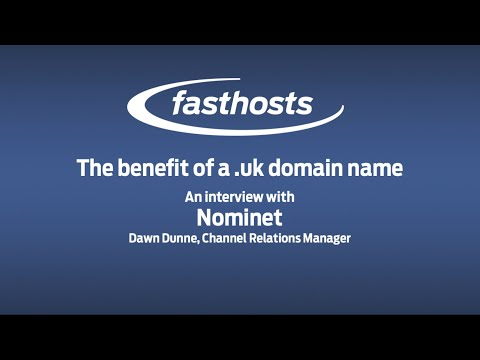 The benefit of a .uk domain