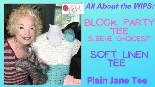 All About the WIPs - Block Party SLEEVE Choices? On The Hook Crochet
