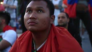Demi Inggris, Suporter Indonesia Nonton Piala Dunia di Rusia