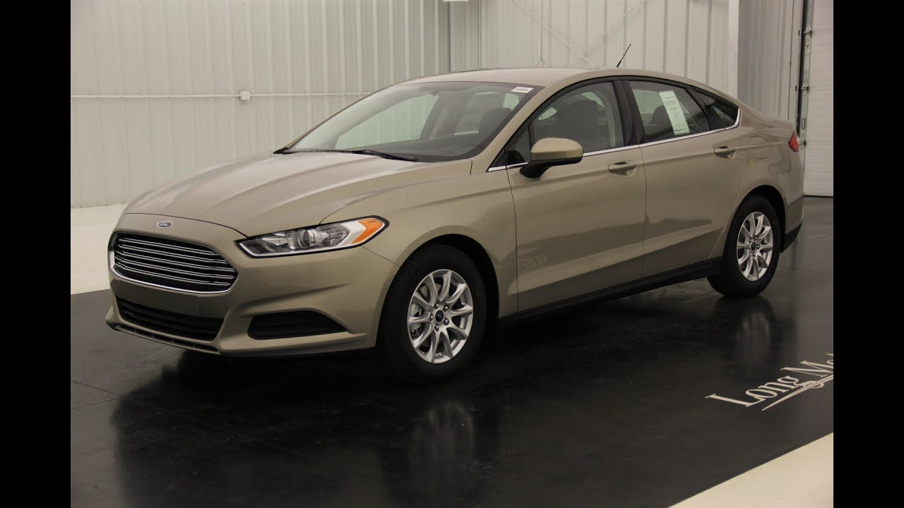 2016 Ford Fusion S Standard Equipment Amp Available Options