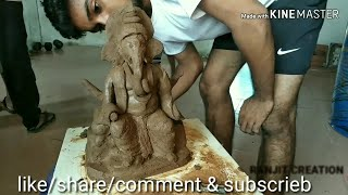 How To Make Paper Clay Ganesha At Home
