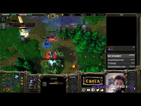 Moon (NE) vs tbc_bm (UD)   - G1- WarCraft 3 - WC####