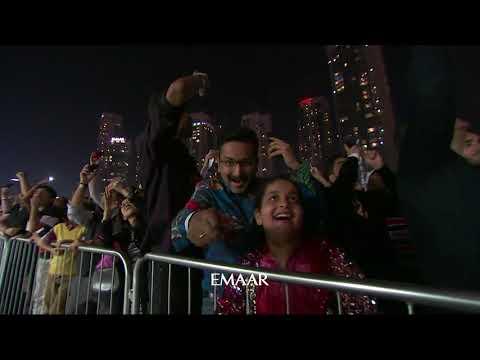 Downtown Dubai NYE 2019 - Full Highlights