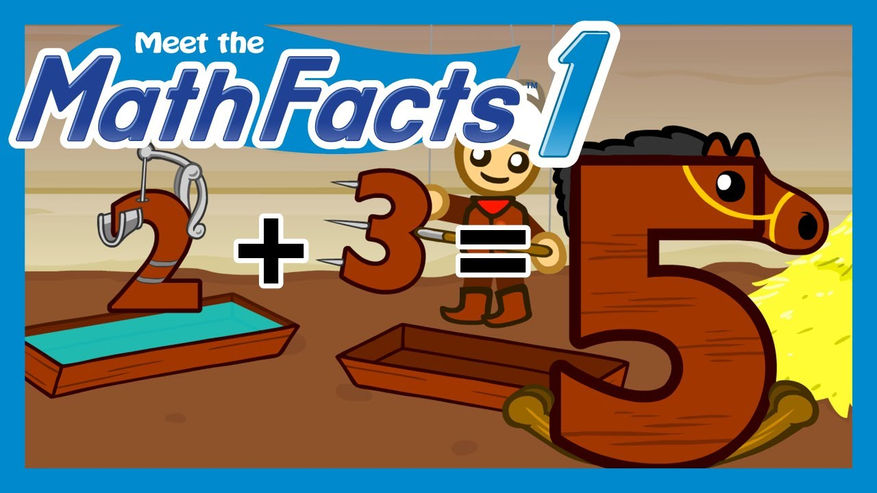 Meet the Math Facts Level 1 - 2+3=5 - YouTube