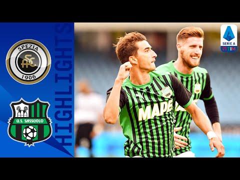 Spezia 1-4 Sassuolo | Il Sassuolo illumina nel segno di Djuricic e Caputo | Serie A TIM