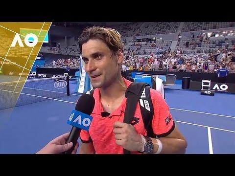 David Ferrer on court interview (1R) | Australian Open 2017
