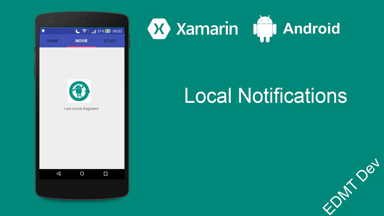 Xamarin Android Tutorial - Local Notifications