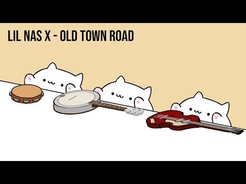 """Bongo Cat - Lil Nas X """"Old Town Road"""" (Cat Cover)"""