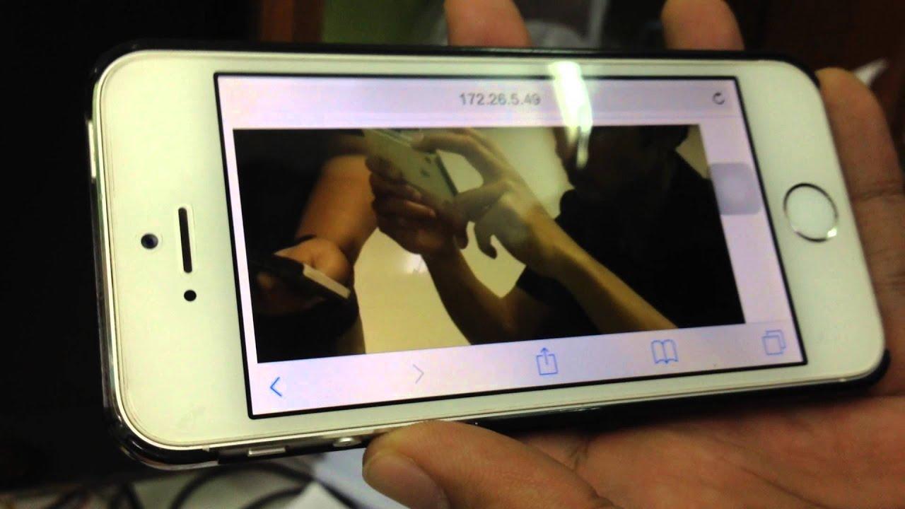 Raspberry pi stream camera with UV4L By Computer Engineering PSU Phuket