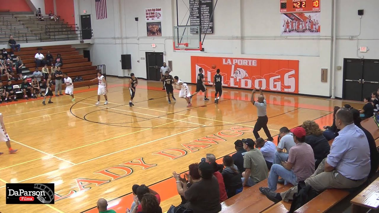 2013 la porte bulldog basketball highlights vs pasadena for Laporte schools