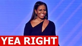 MICHELLE OBAMA NAMED AMERICA'S MOST ADMIRED WOMAN IN NEW POLL | NOT BY ME THO 😂