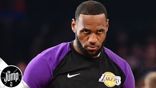 'Why do the Lakers get to whine?' - Zach Lowe goes off on Lakers injury talk | The Jump
