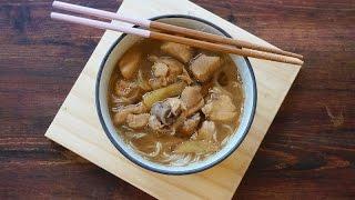 Sesame Wine Chicken With Somen/mee Sua
