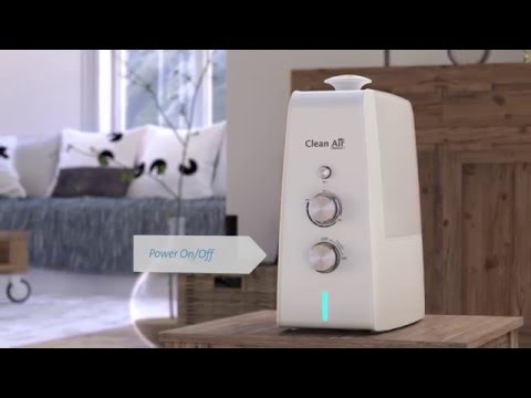 Humidifier Clean Air Optima CA-602 with ionizer and aroma diffuser