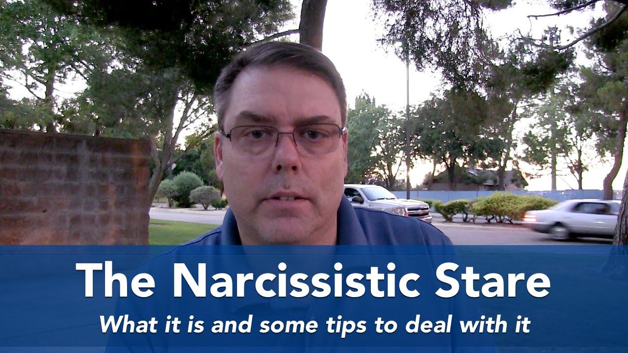 Narcissistic predatory stare