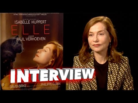 Elle: Isabelle Huppert Exclusive Interview