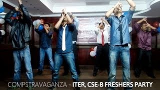 Expressionless Funny College Dance Performance - ITER Freshers Party
