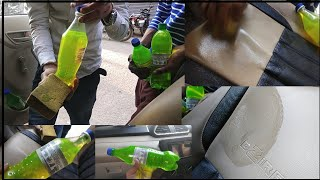 || Car Interior Cleaning Solution || Clean- Seat covers, dashboard, selling Dust ||