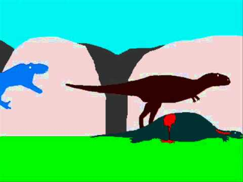 PFG - Daspletosaurus VS Tarascosaurus