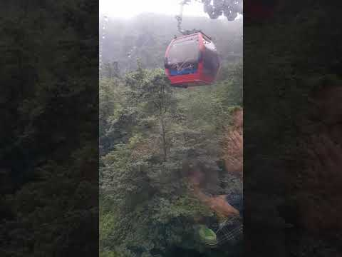 Mount Qingcheng Cable Car Ride in Dujiangyan, Chengdu (Sichuan, China)