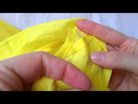 Reusable Shopping Bag Examination - ASMR