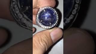 BLUE STAR SAPPHIRE BIRMA - Ada Royal Safir Srilanka Ceylon Alexandrite Chrysoberyl Kecubung Ungu Borneo Kalimantan Spinel Red Ruby Birma Topaz