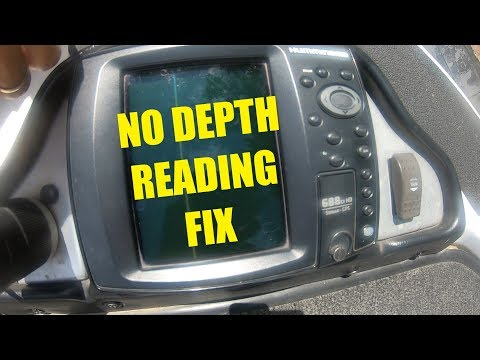 No Depth Reading On A Humminbird Fishfinder - Transducer Cable Problem
