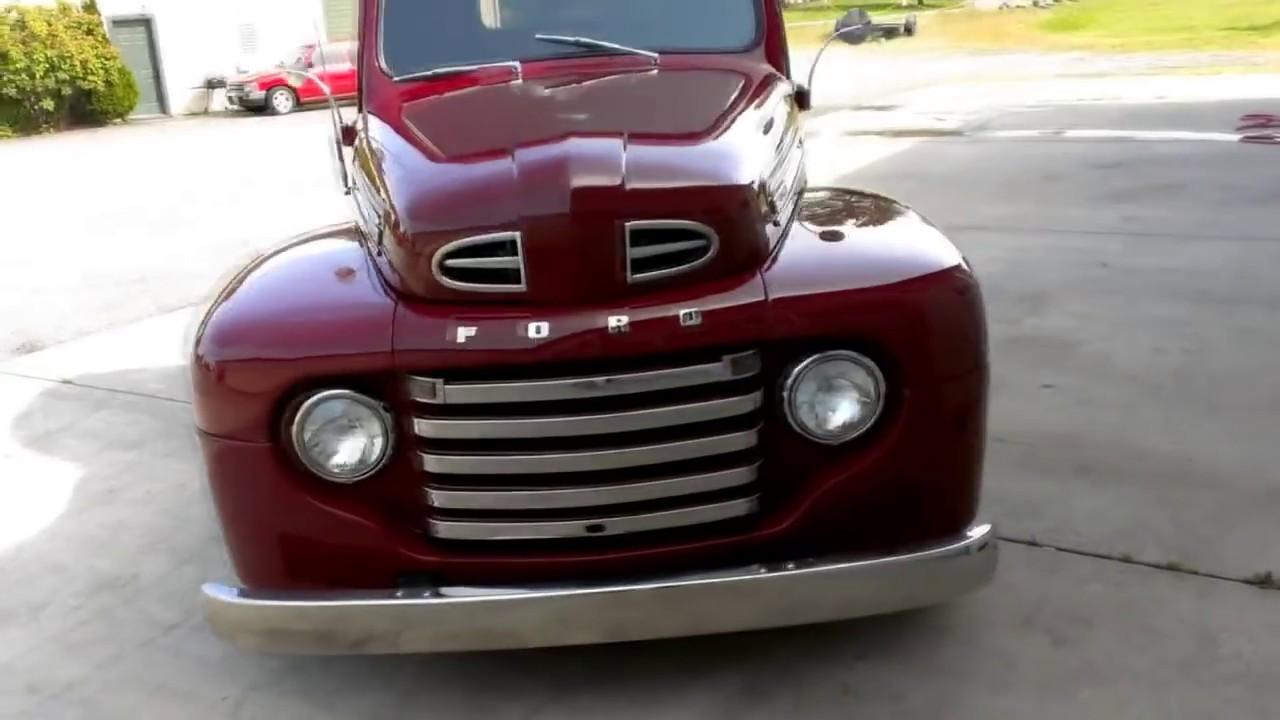 1948 ford f1 pickup [ 1280 x 720 Pixel ]