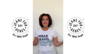 Natasha Kaplinsky supports Jeans for Genes Day